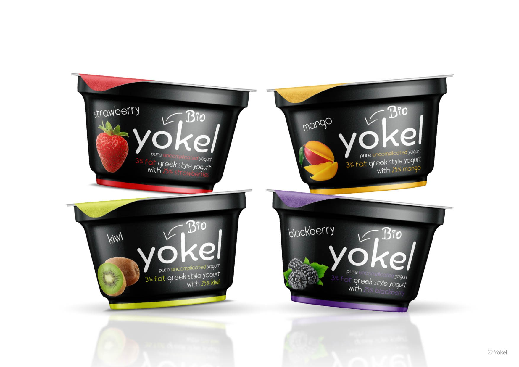Yokel | Bio Yogurt, Logo & Packaging Design