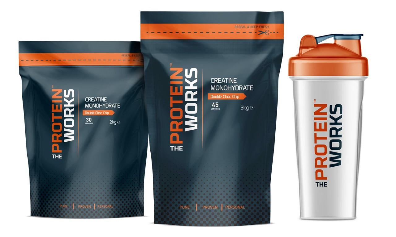 The Protein Works | Sports Nutrition, Logo & Packaging Design