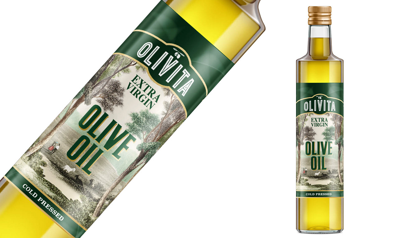 Olivita | Premium Italian Olive Oil, Logo & Packaging Design